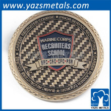 Zinc alloy die casting fashion challenge coin