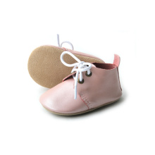 Newborn Custom Soft Leather Baby Oxford Shoes Girls