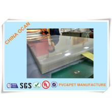 Feuille rigide de PVC de conseil de cristal pour l'impression