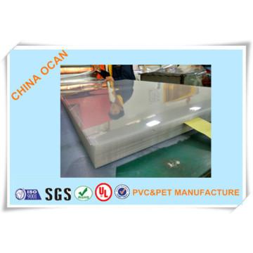 Folha rígida do PVC da placa de cristal para imprimir