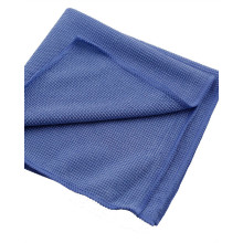 Microfiber Cloth with Sewn Edge for Car Cleaning