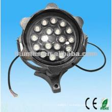 AC100-240V impermeable ip65 12w 18w poder más elevado proyector llevado