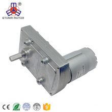 12V Small Gearbox Motor for Car Spare Part, Flat DC Geared Motor for Cart Wheels