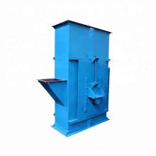 Elevador de cangilones de correa de venta caliente para elevación vertical
