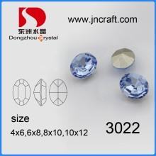 Hotsale plus récent K9 Crystal Fancy Stone avec griffe pour accessoires de vêtement