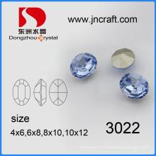 Hotsale Date K9 cristal fantaisie pierre avec griffe pour les accessoires de vêtement