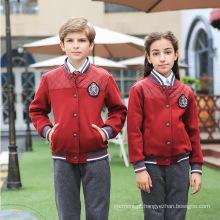 Fábrica do OEM Customized Western High Quality Winter School Uniform