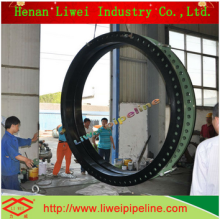 DN2800 rubber expansion joint for Nuclear power
