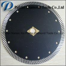 Disque diamant circulaire Turbo Segment pour lame coupée en pierre