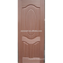 Factory price moulded melamine mahogany mdf door skin