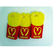 Durable McDonald Chips Flexible Silicone Mobile Phone Case