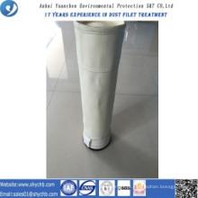 Saco de filtro acrílico não tecido do coletor de poeira para o central eléctrica hidroelétrico