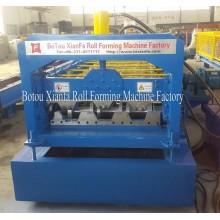 Máquina laminadora de láminas de piso galvanizado que forma la máquina