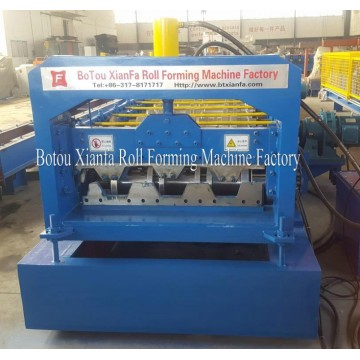 Galvanized Sheet Floor Deck Roll Forming Machine