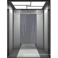 Ascensor de ascensor residencial con ascensor sin engranaje