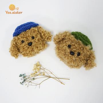 Handmade Crochet Dog Bluetooth Earphone Case