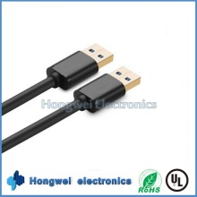 High Speed ​​Double USB 3.0 Stecker auf Stecker Adapter USB Kabeltypen