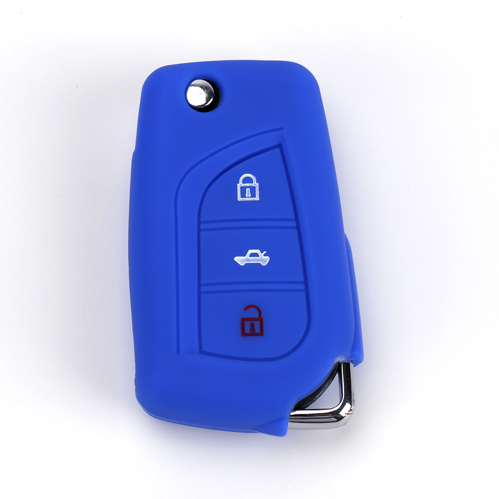 toyota vios silicone key cover