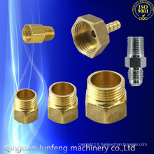 High quality custom brass gas pipe adapter