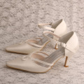 Mother of The Bride Cream Shoes Pernikahan