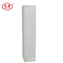 KD métal 5 niveaux casier cinq portes casiers