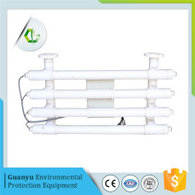 Sea water ultraviolet filtration