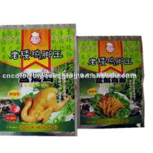 Papier d'aluminium Poulet pieds sac d'emballage alimentaire