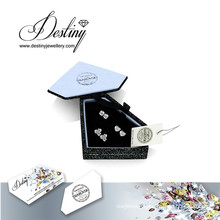 Destiny Jewellery Crystal From Swarovski Set Crystal Earrings