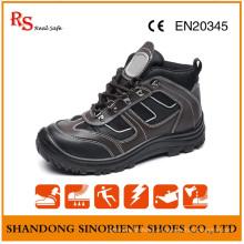 Chaussures de sécurité élégant avec une bonne qualité en cuir véritable RS893