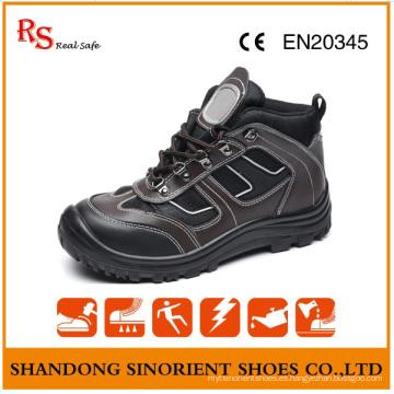 Zapatos de seguridad con estilo con buena calidad de cuero genuino RS893