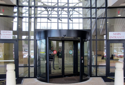 Customization Two-wings Automatic Revolving Doors