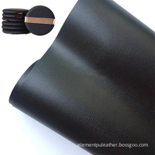 ECO Friendly Black Elastic Water Based PU Leather