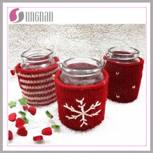 2015 Fashion Christmas Knitted Mug Cup Sleeve