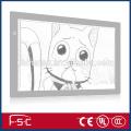 Zeichenbrett a2 führte Animation Leuchtkasten ab Werk