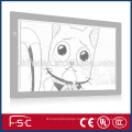 A2 drawing board led animation light box from factory