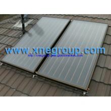 High efficiency balcony flat panel sun collector