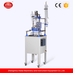 80L  Single Layer Distillation Glass Reactor