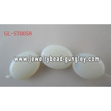 Natural Gemstone Opal Glass beads