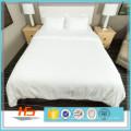 4 Stück Weiß Polyester Baumwolle Queen Size Hotel Doona Cover Sets