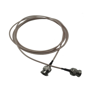 BNC plug coaxial cable assembly