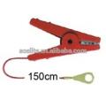 clips de crocodile de forte clôture électrique, câble de raccordement, câble de sortie pour ruban de clôture électrique