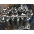304 316 tanque de solvente de aço inoxidável (personalizar)