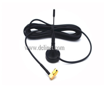 28 * 85 มม. และสีดำ 4G Sucker Antenna with Magnetic