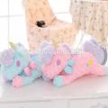 Nouveau design personnalisé fait drôle en peluche licorne jouets couverture de boîte de tissu de bonne qualité décoration jouets