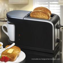 Tostadora 2 rebanadas de pan + café (WT-918)