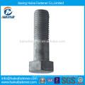 Chine Fournisseur ASTM A325 A490 B7 acier inoxydable B8 Boulon hexagonal lourd, boulon à tête hexagonale