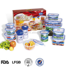 stockage de nourriture, micro-ondes PP ensemble de récipient de nourriture
