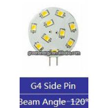 oblea G4 10leds 1.5W 12V AC / 10-30V DC pin lateral / pin posterior