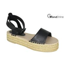 Sandale d'espadrilles de la plateforme causale pour femmes