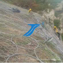 Segurança Ts-High com Borders Mountain Fence Netting